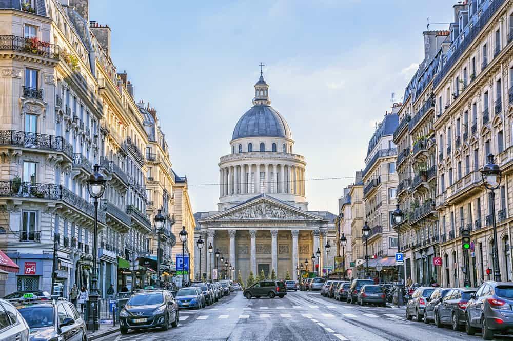 Sorbonne Üniversitesi Latin Mahallesi Paris Fransa
