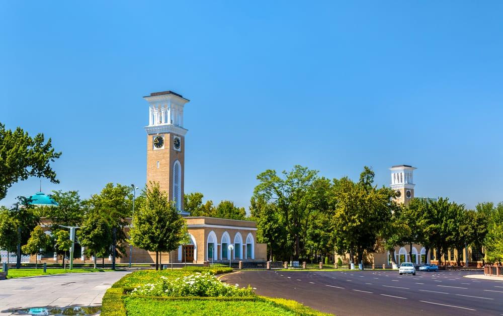 Taşkent Saat Kulesi Özbekistan
