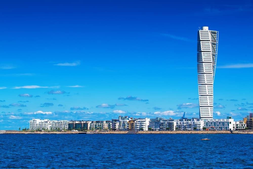 Turning Torso Malmö İsveç