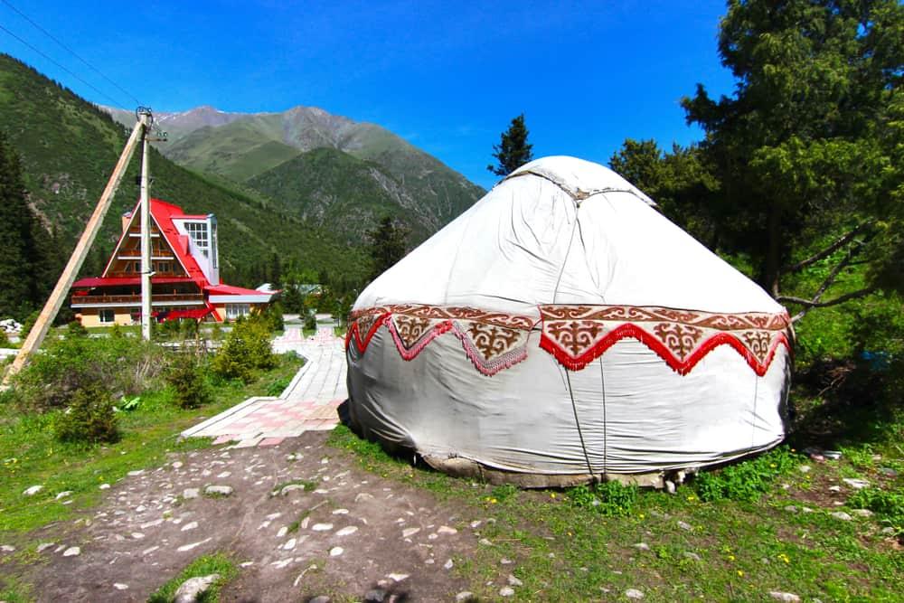 Ala Arca Milli Parkı Bişkek Kırgızistan