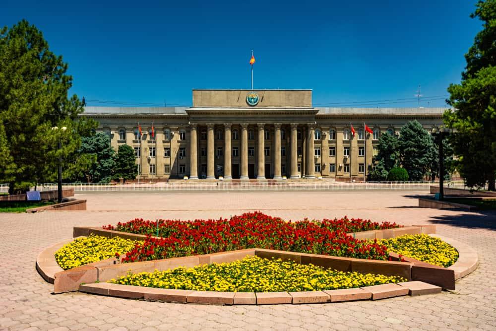 Ala Too Meydanı Bişkek Kırgızistan