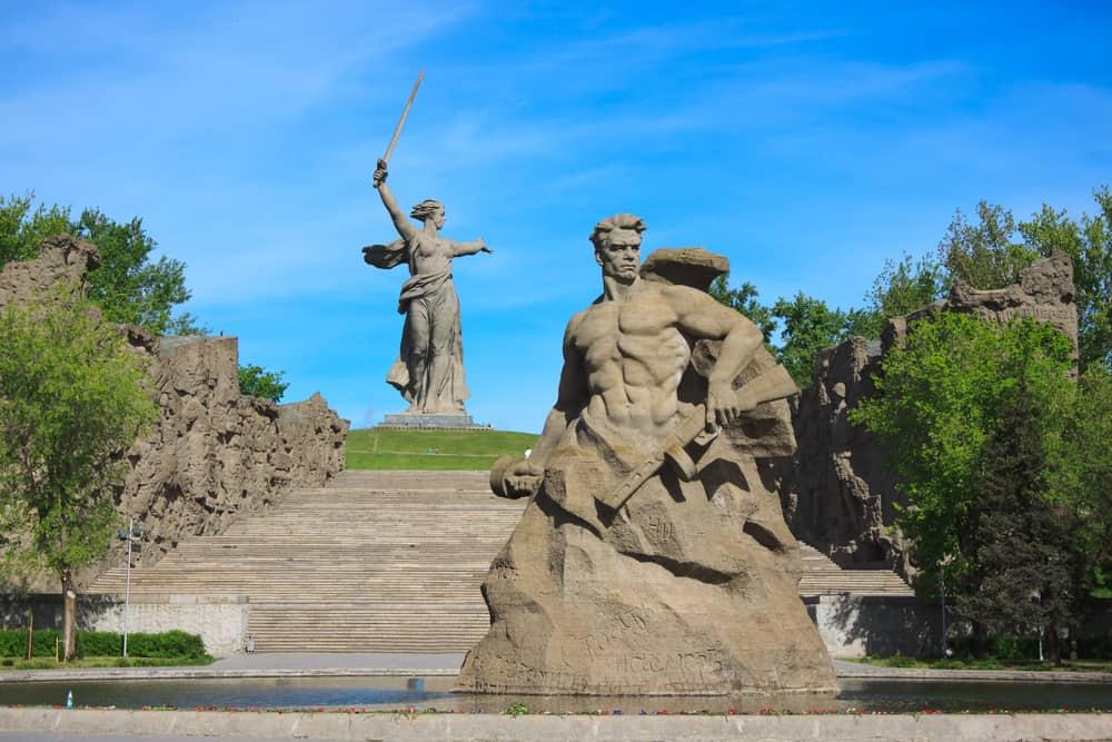 Anavatan Çağırıyor, Volgograd, Rusya
