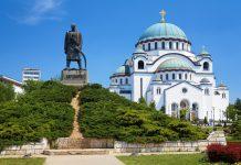 Aziz Sava Katedrali Belgrad