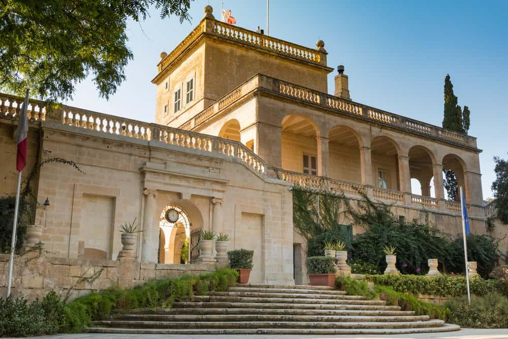 Büyük Üstadın Sarayı (Grand Master's Palace) Valletta Malta