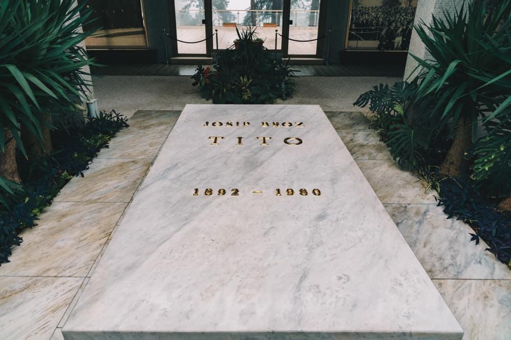 Belgrad Sırbistan Tito Anıtmezarı ve Yugoslavya Tarihi Müzesi