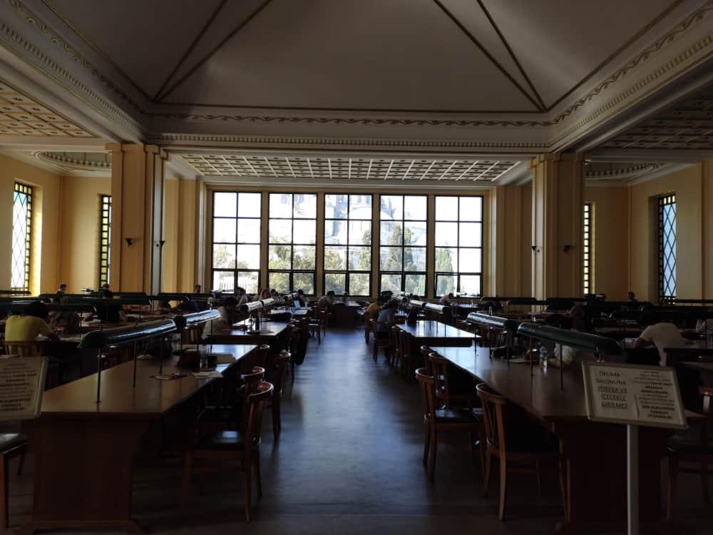 Beyazıt Devlet Kütüphanesi İstanbul Üniversitesi