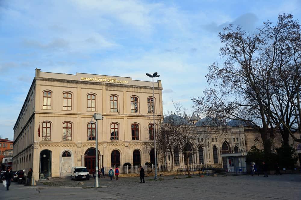 Beyazıt Devlet Kütüphanesi İstanbul