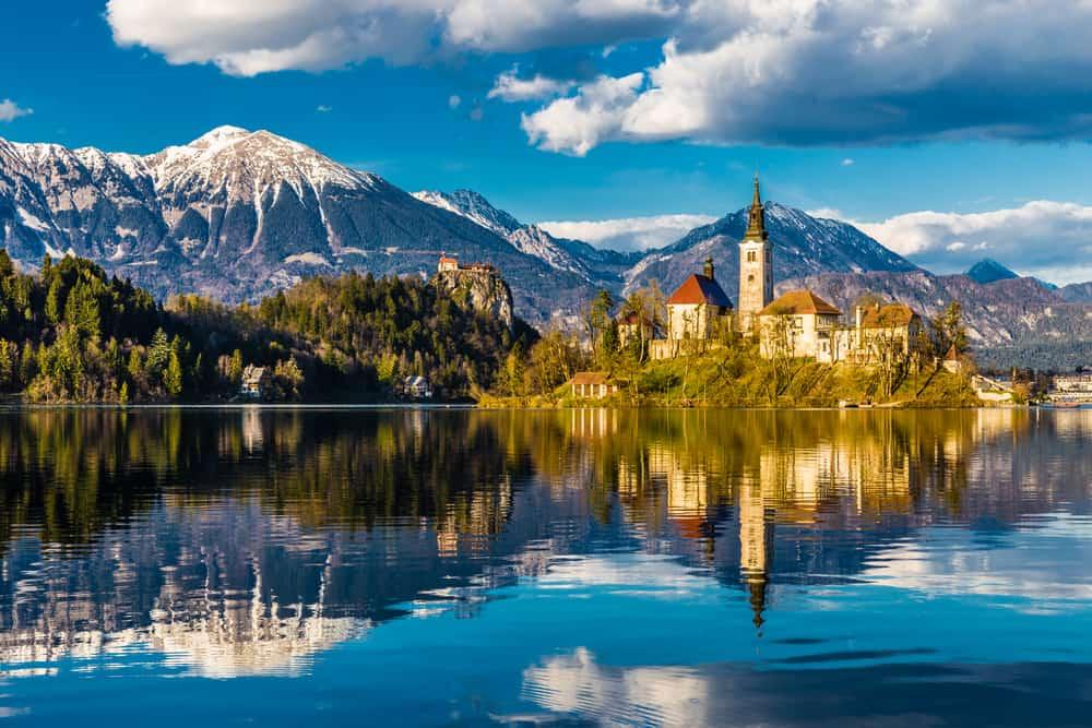 Bled Gölü Slovenya
