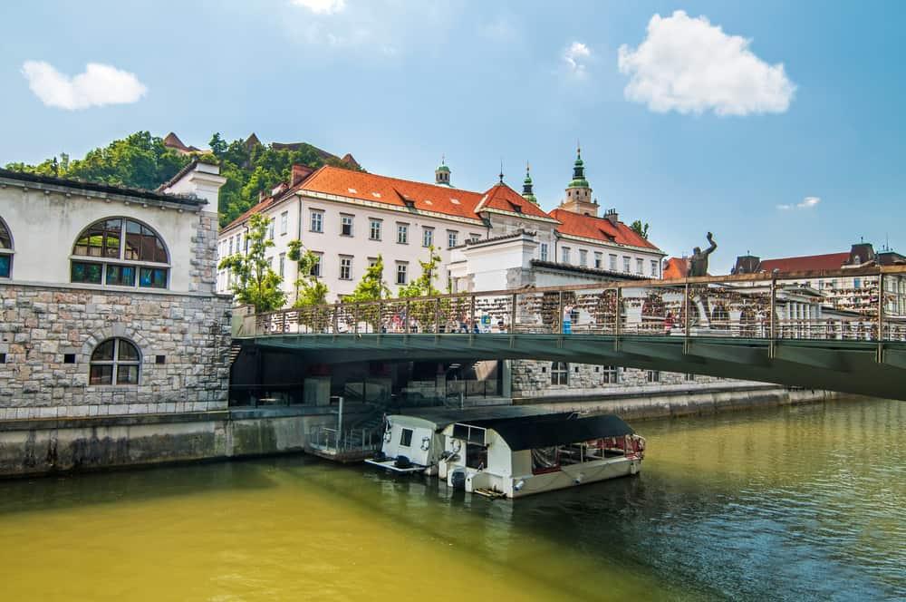 Butcher Köprüsü Ljubljana Slovenya