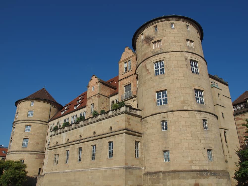 Eski Kale (Altes Schloss) Stuttgart Almanya