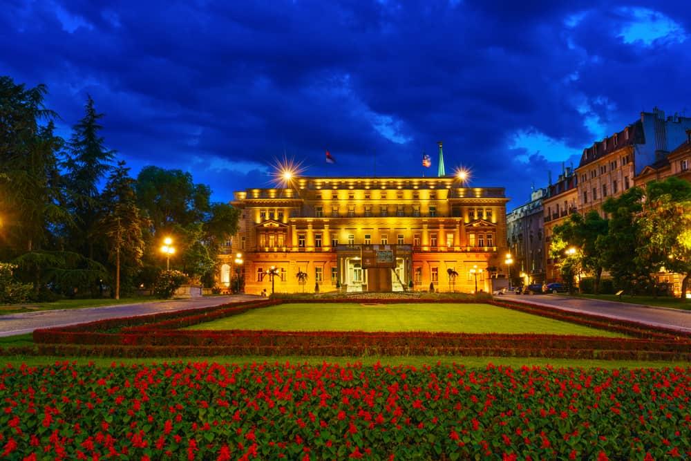 Eski Saray (Stari Dvor) Belgrad Sırbistan