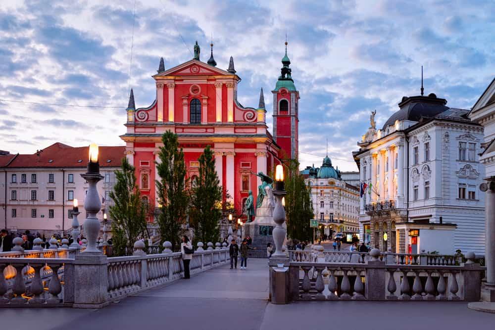 Franciscan Kilisesi Ljubljana Slovenya