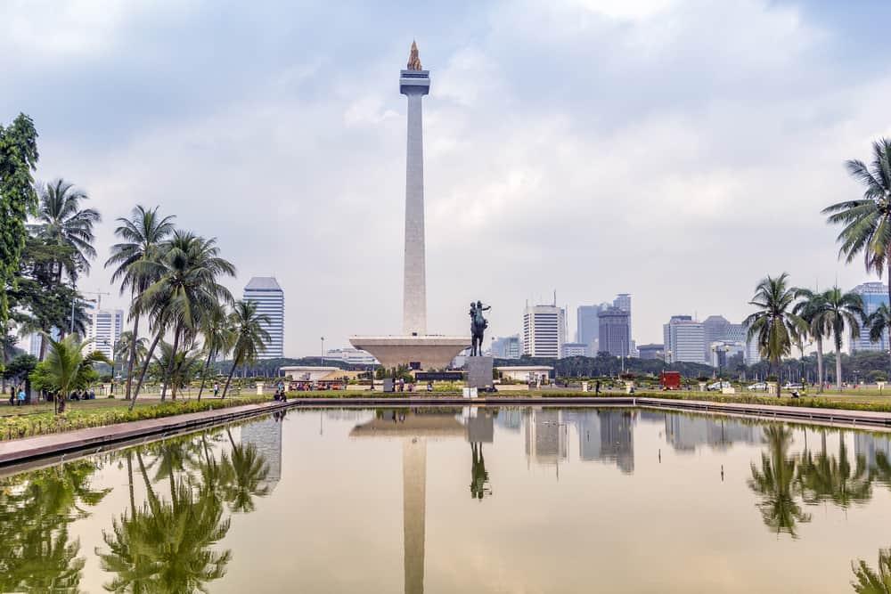 Jakarta Endonezya Merdeka Meydanı