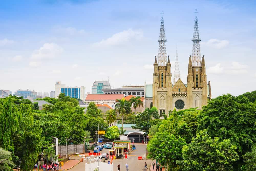 Jakarta Katedrali Endonezya