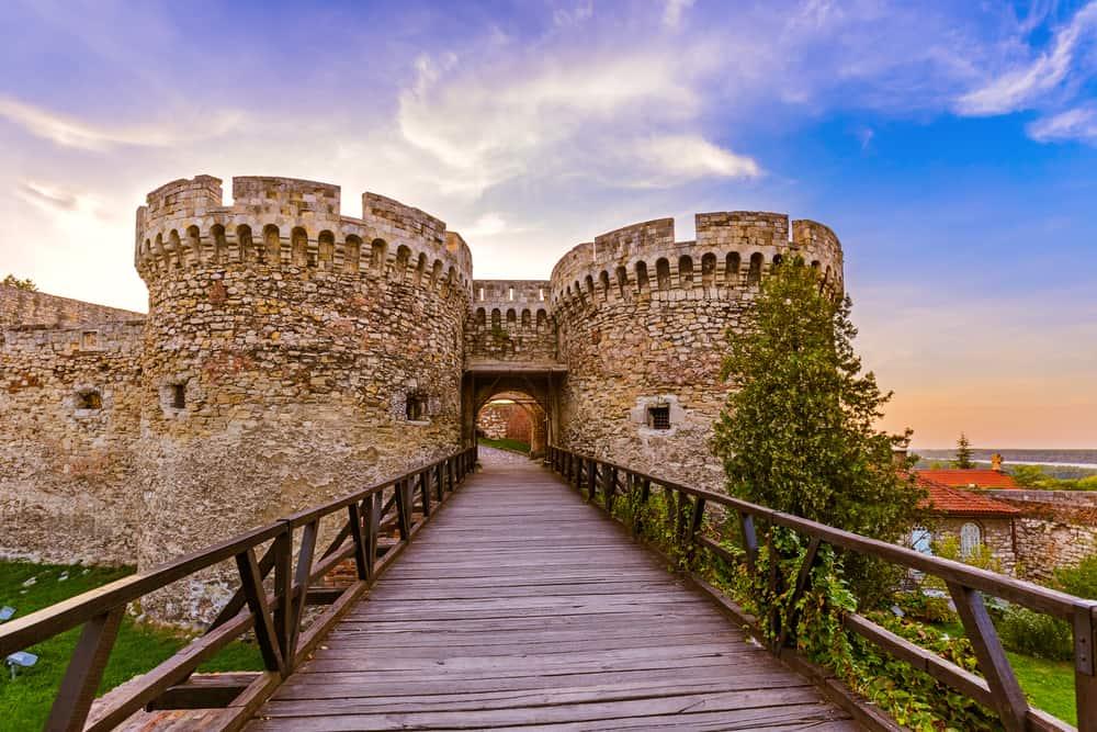 Kalemegdan Kalesi Belgrad