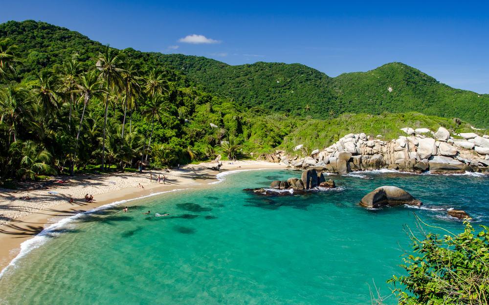 Kolombiya Tayrona Ulusal Parkı