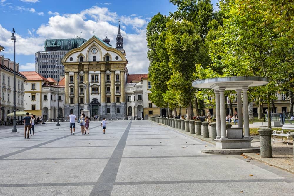 Kongresni Meydanı Ljubljana Slovenya