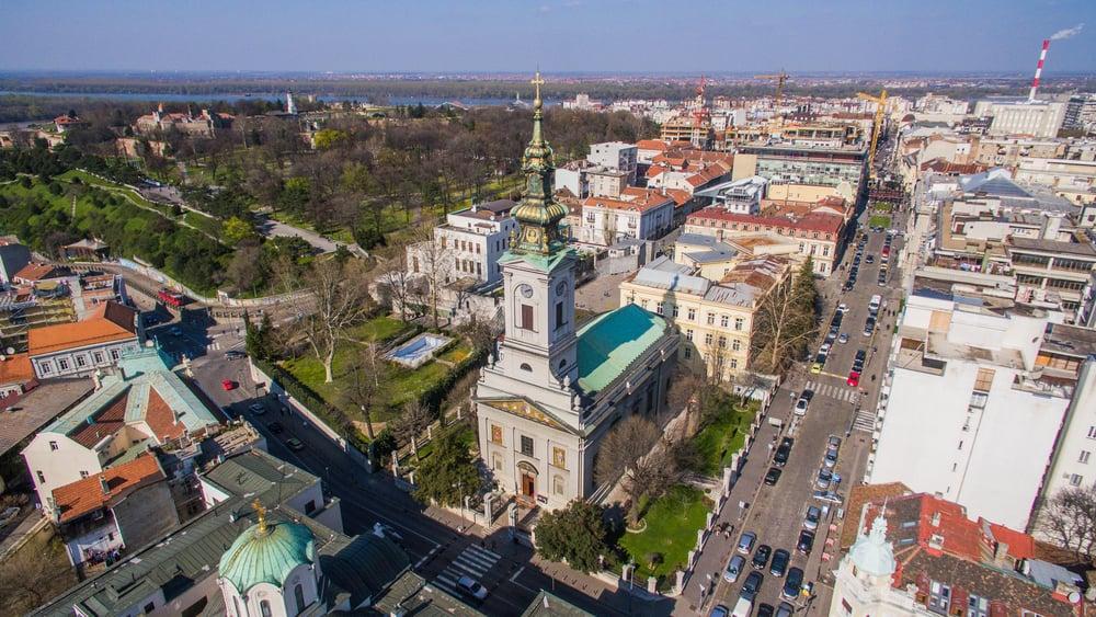 Kutsal Baş Melek Michael Katedrali Belgrad