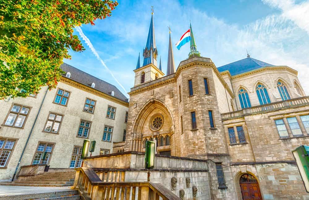 Lüksemburg Notre Dame Katedrali
