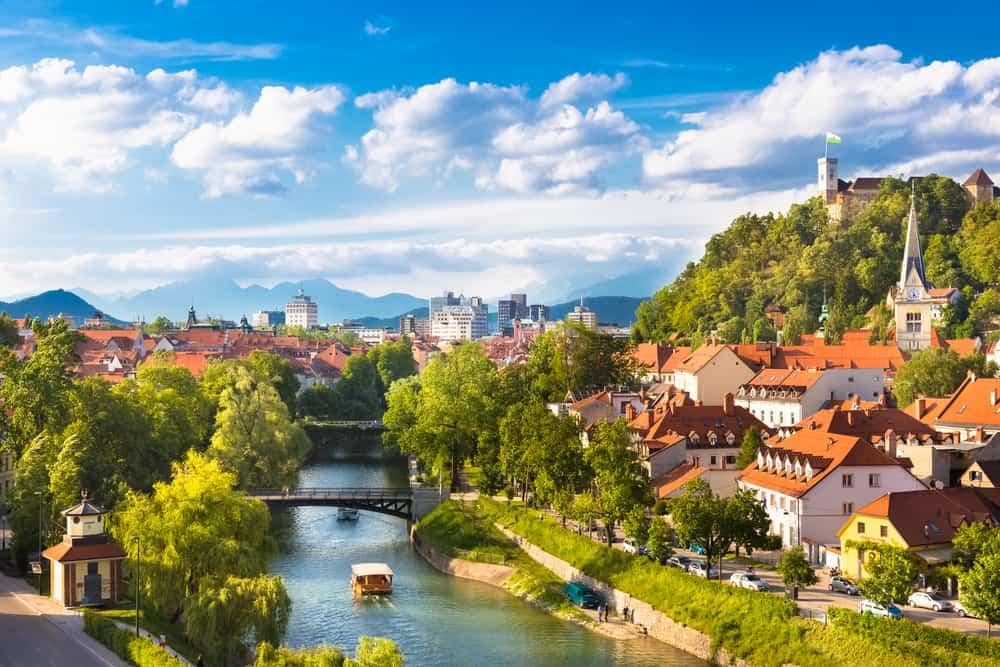 Ljubljana Nehri Slovenya