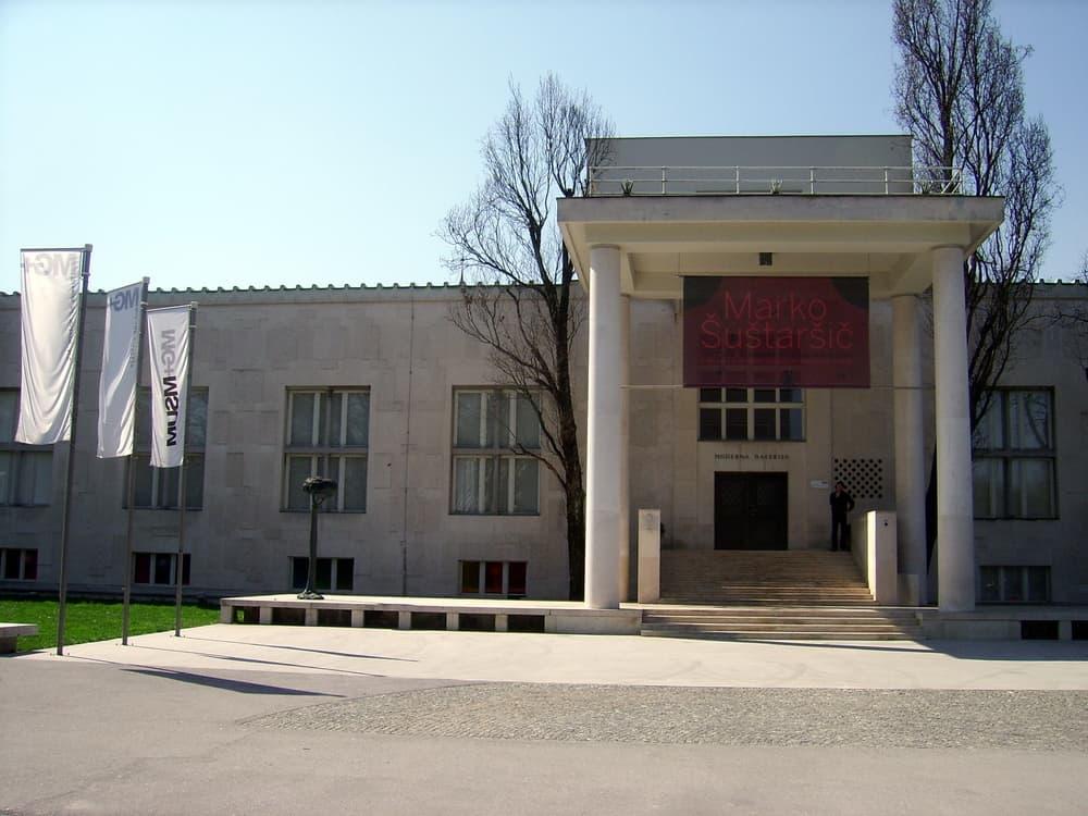 Ljubljana Slovenya Modern Sanat Müzesi