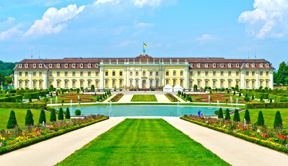 Ludwigsburg Sarayı Stuttgart Almanya