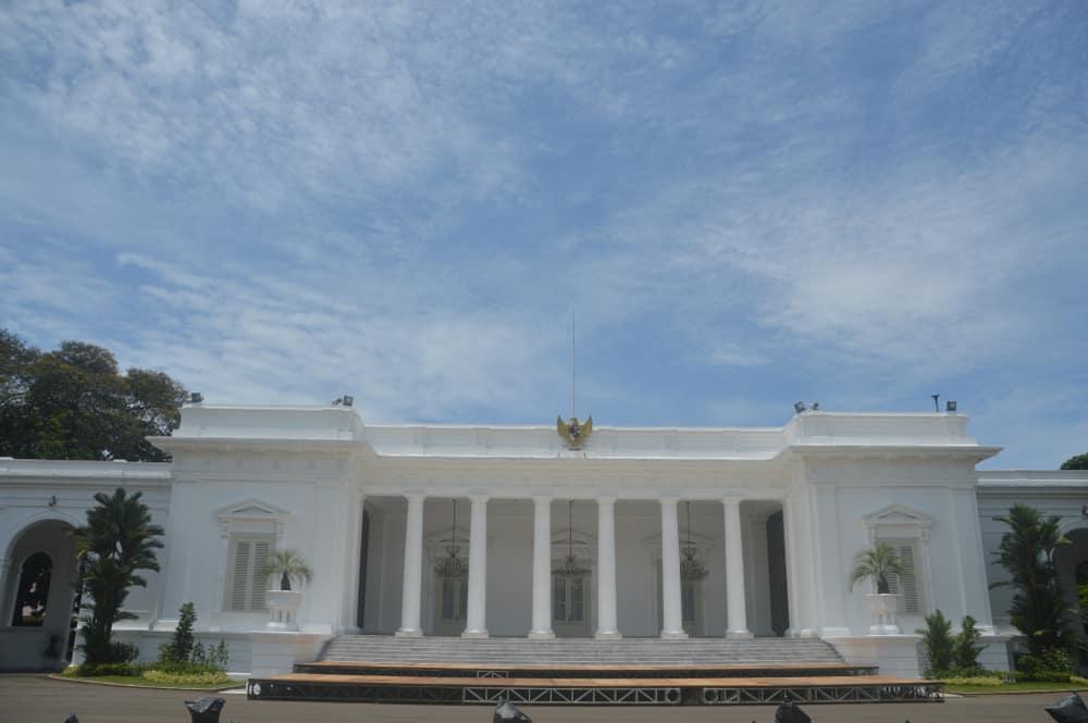 Merdeka Başkanlık Sarayı Jakarta Endonezya