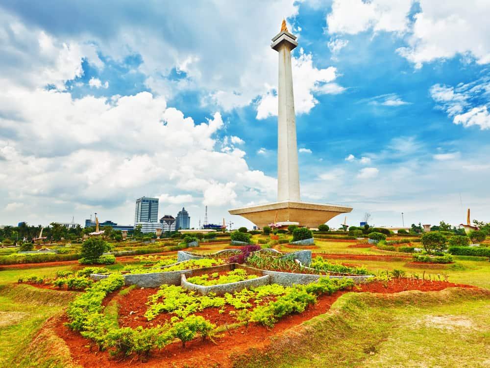 Merdeka Meydanı Jakarta Endonezya