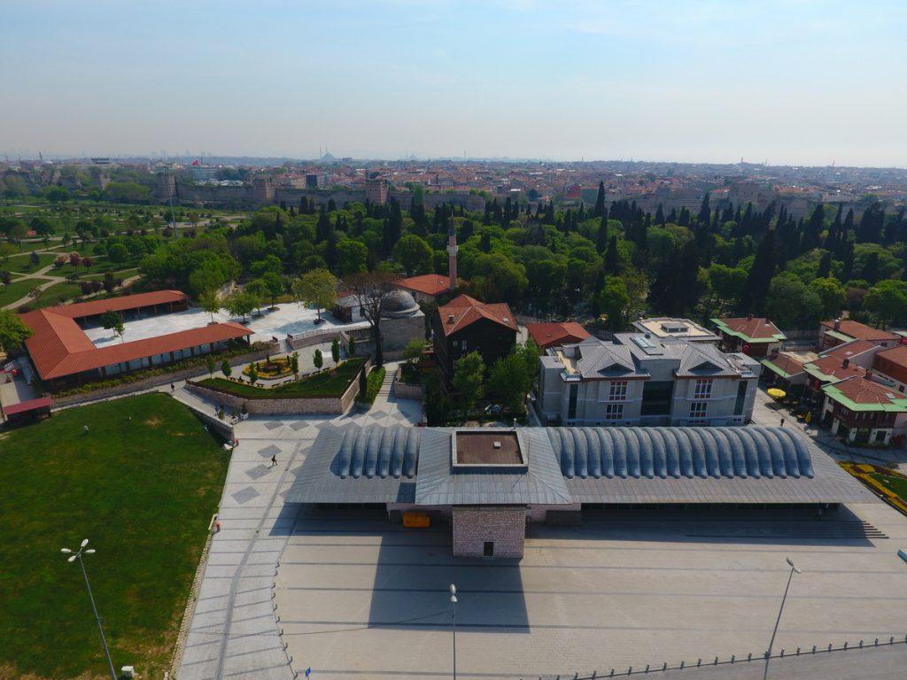 İstanbul Merkezefendi Millet Kıraathanesi (Merkezefendi Şehir Kütüphanesi)