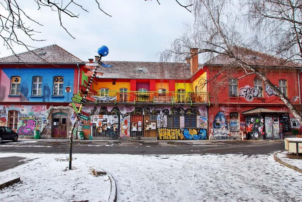 Metelkova Sosyal Merkezi Slovenya Ljubljana