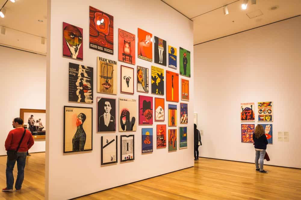 MoMA Museum Of Modern Arts, New York Amerika