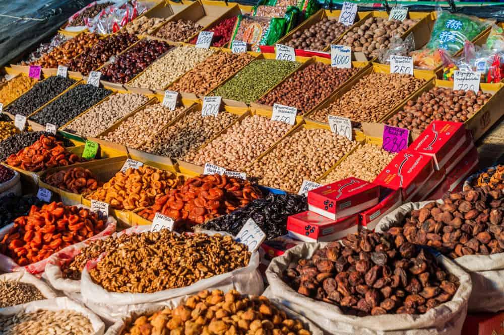 Oş Pazarı Bişkek Kırgızistan