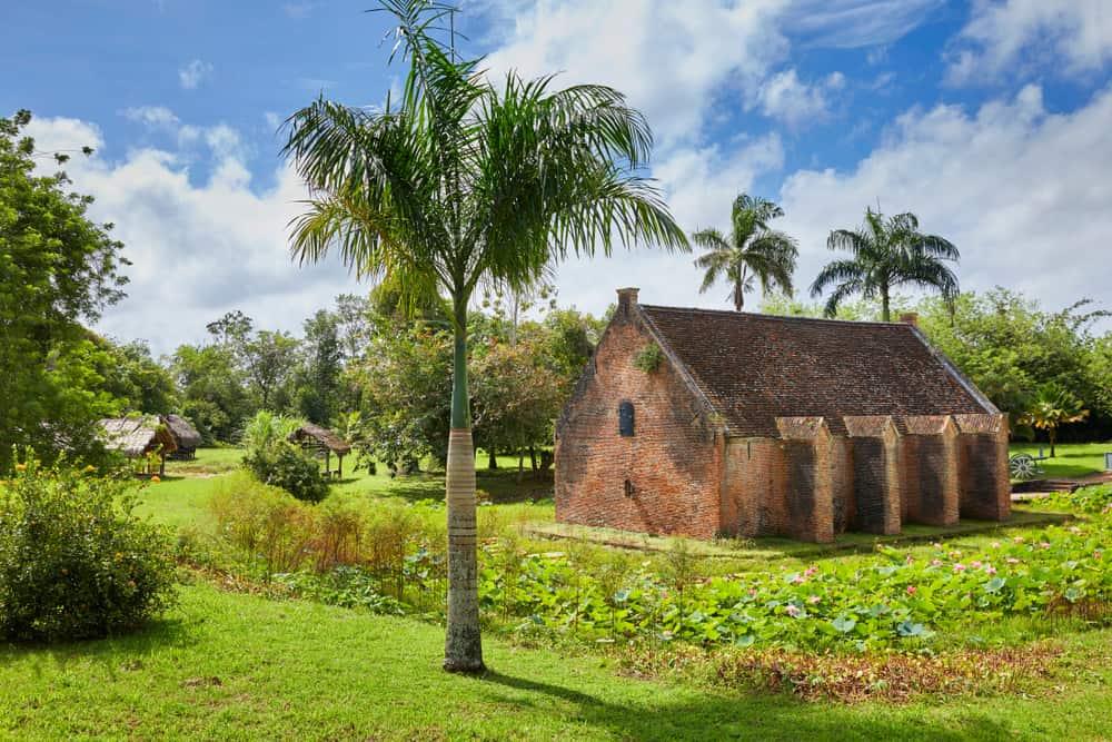 Paramaribo, Surinam New Amsterdam Kalesi