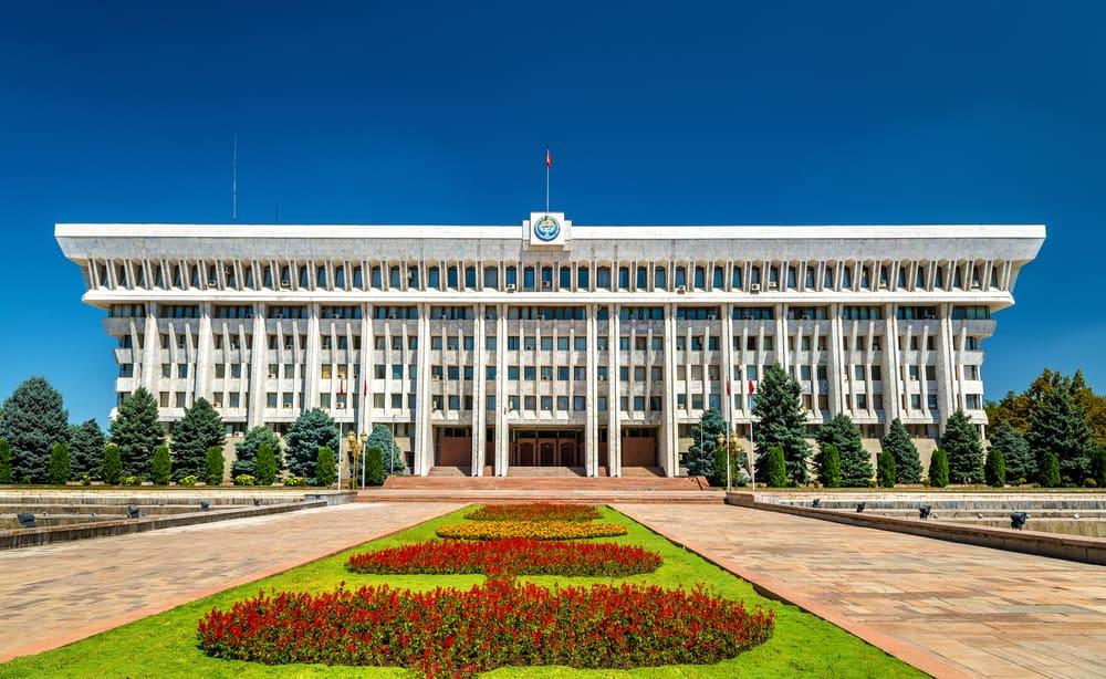 Parlamento Binası Bişkek Kırgızistan
