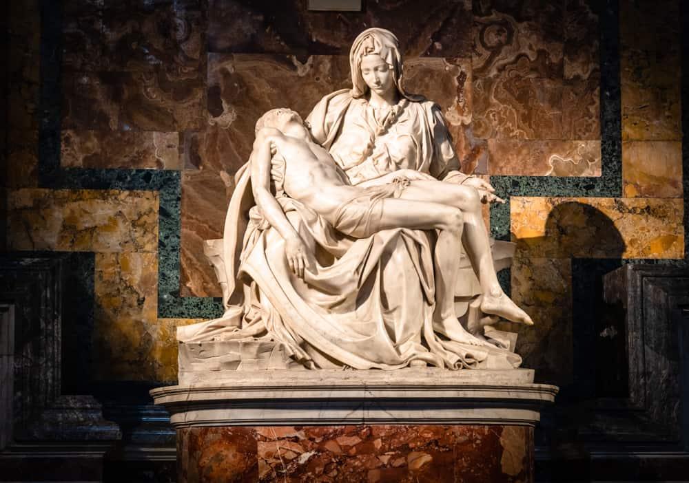 Pieta – Roma, İtalya