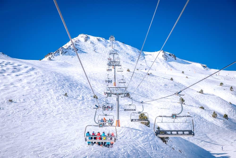 Pirine Dağları Kayak Merkezi Andorra