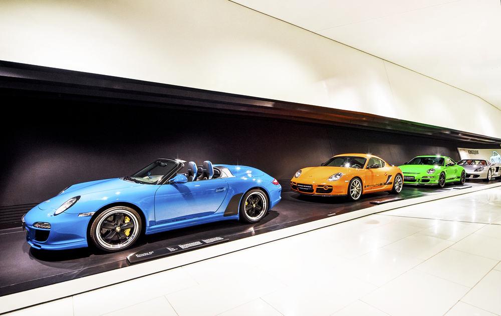 Porsche Müzesi Stuttgart Almanya