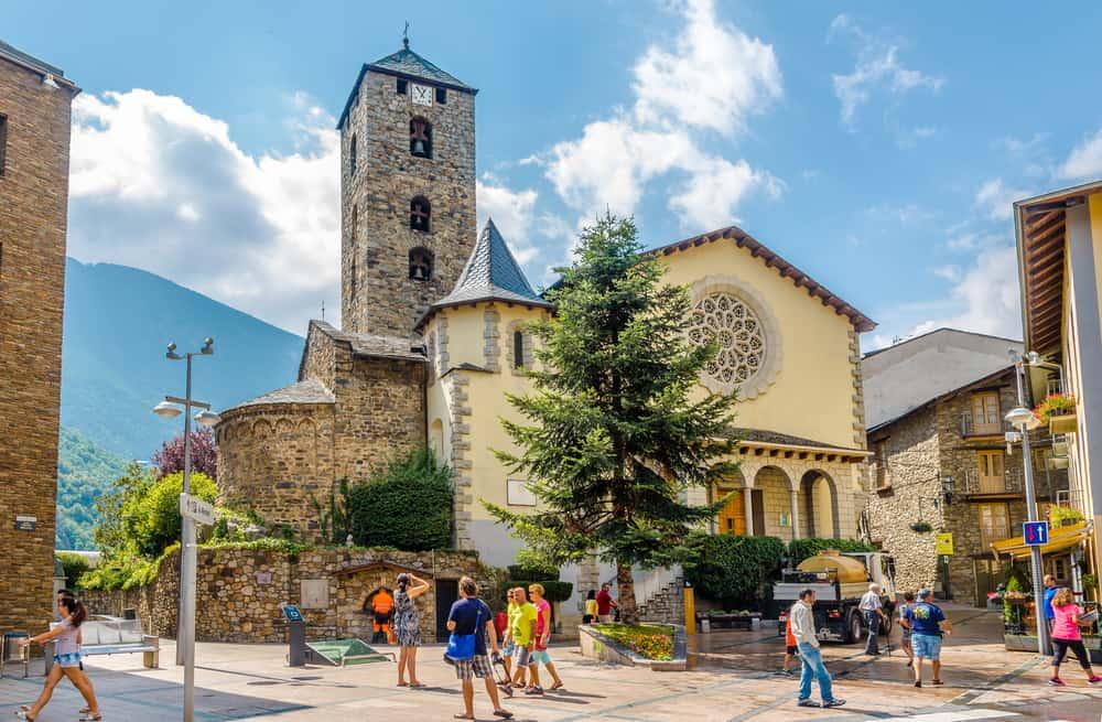 Saint Esteve Katedrali Andorra
