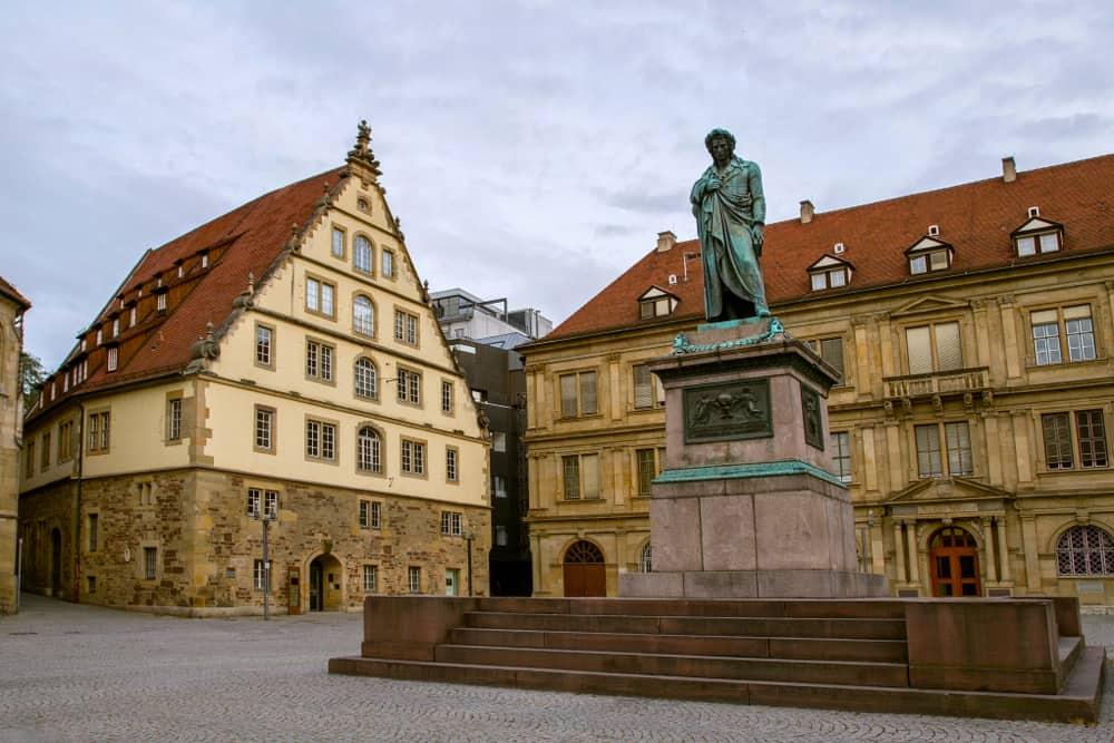 Schiller Meydanı Stuttgart Almanya