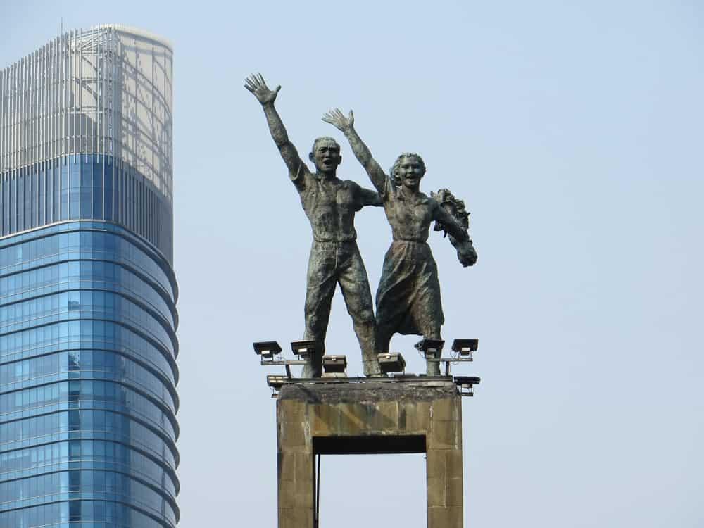 Selamat Datang Anıtı Jakarta Endonezya