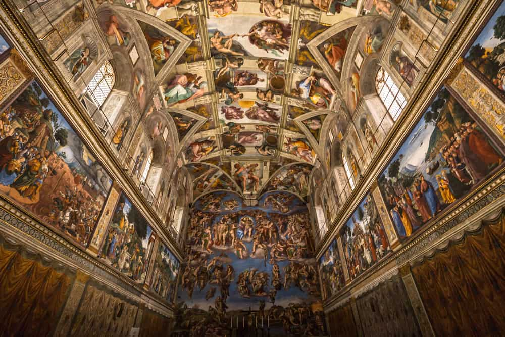 Sistine Şapeli Vatikan