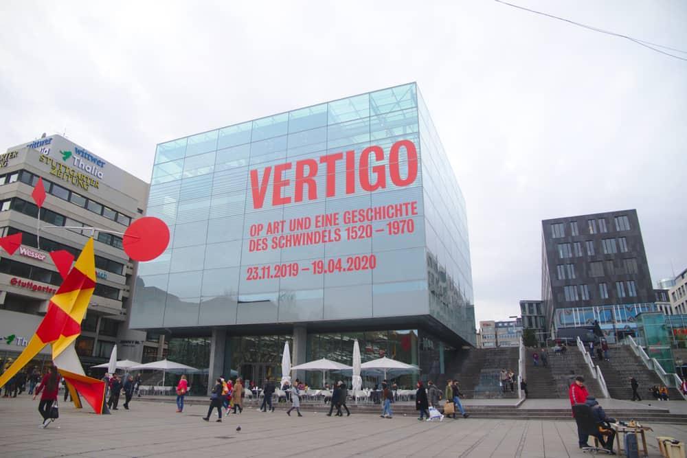 Stuttgart Sanat Müzesi (Kunstmuseum Stuttgart) Almanya