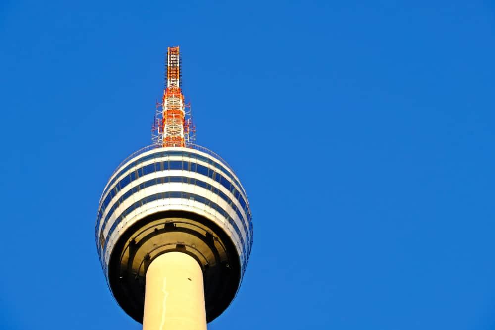 Stuttgart Televizyon Kulesi (Fernsehturm Stuttgart)