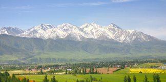 Tanrı Dağları Bişkek Kırgızistan
