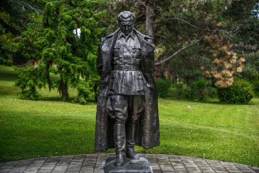 Tito Anıtmezarı ve Yugoslavya Tarihi Müzesi Belgrad Sırbistan