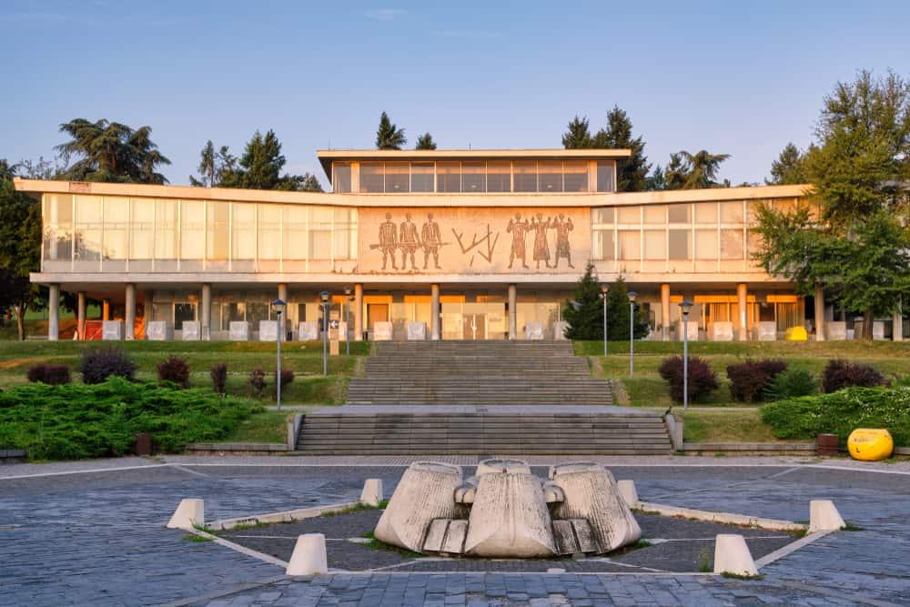 Tito Anıtmezarı ve Yugoslavya Tarihi Müzesi Belgrad