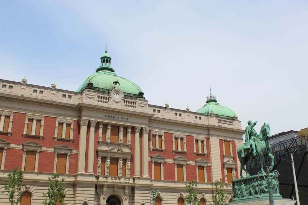 Ulusal Müze (Narodni Muzej) Belgrad Sırbistan