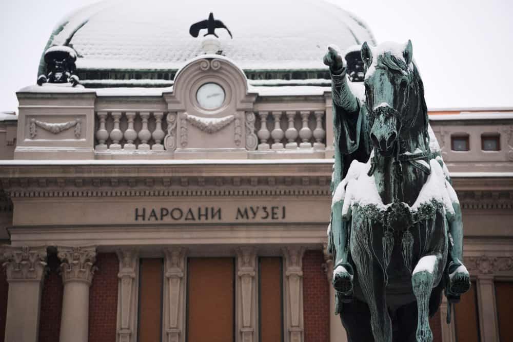 Ulusal Müze (Narodni Muzej) Belgrad