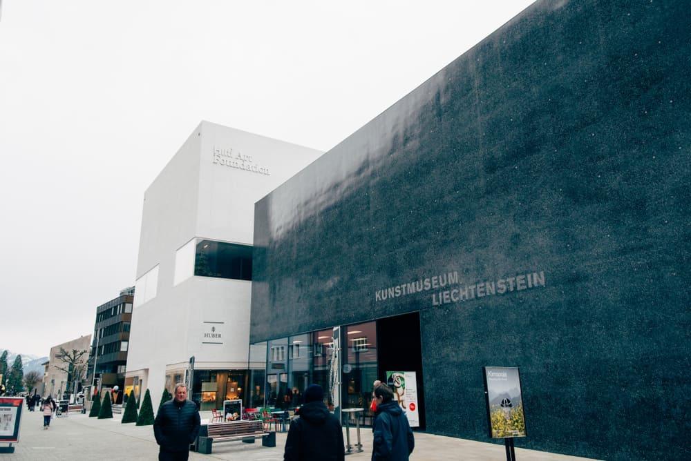 Lihtenştayn Vaduz Güzel Sanatlar Müzesi Vaduz Güzel Sanatlar Müzesi