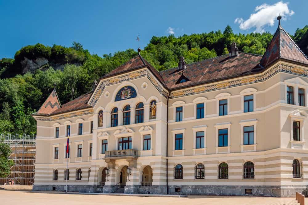 Vaduz Hükümet Binası, Liechtenstein